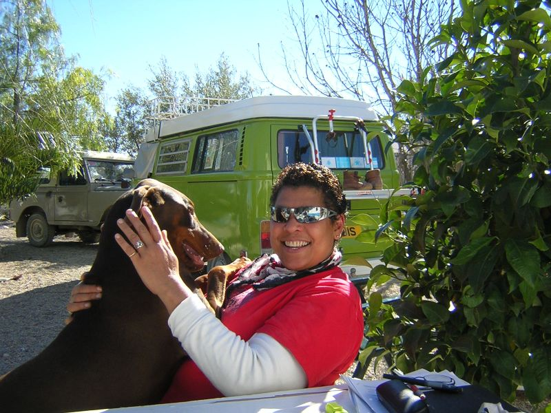 Recovery: Me and Zami winter in Andalusia
