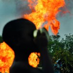 Normalisation of oil pollution and violence in the Niger Delta